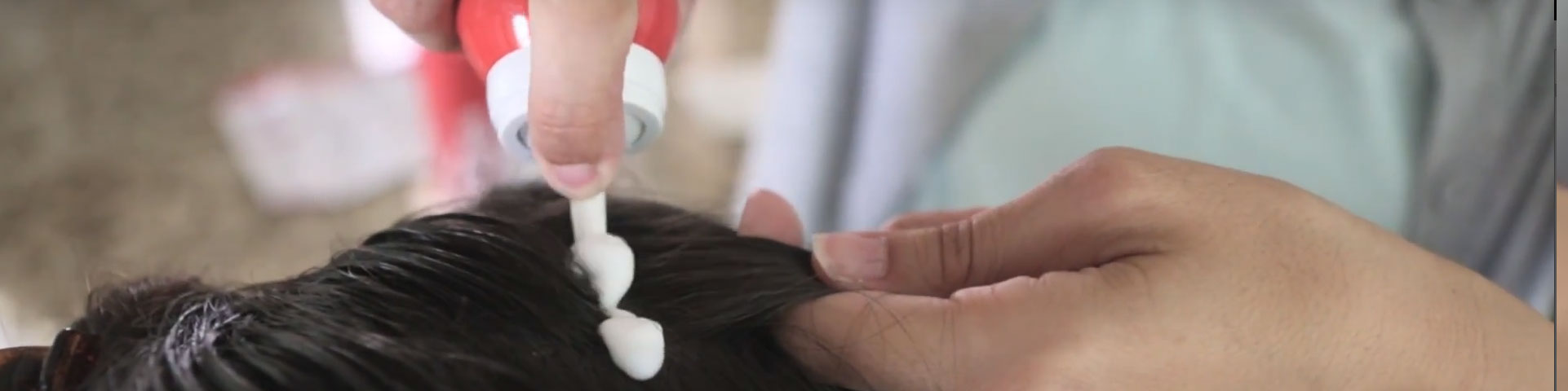 How to apply Vamousse Lice Treatment
